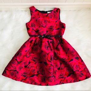 Spring summer floral dress for 10Y